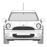 R56/R57 Cabrio/Clubman R55 (07-13)