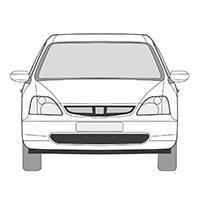 Civic 3p (01-05)