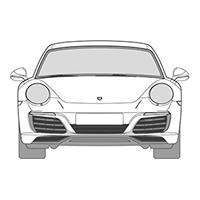 911 (991) Cabriolet (12-)