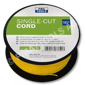 Corde de fibre 140 daN pour système de découpage Single-Cut, 100 m