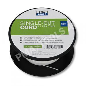 Corde de fibre 130 daN pour système de découpage Single-Cut, ultra fin, 100 m