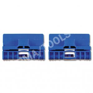 AUDI A3, 96-03, Clip PB vitre latérale, bleu, 2 pcs.