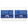 AUDI A6 Berline, 97-04, Kit réparation vitre latérale, bleu, 2 pcs.