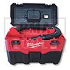 Milwaukee® Aspirateur eau et poussières M18 VC2-0