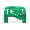 MITSUBISHI Outlander, 03-06, Clip PB carrosserie latéral, vert