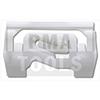 MITSUBISHI Colt VI 3p, 05-06, Clip PB carrosserie latéral, blanc