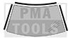 HONDA Civic 4/5p, 16-, Kit enjoliveurs PB autoadh., 3 pcs.
