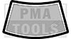 MITSUBISHI Pajero I, 82-90, Joint caoutchouc PB sans renforcement enjoliveur