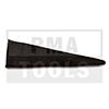 AUDI 100/A6, 91-97, Cale d'épaisseur, noir